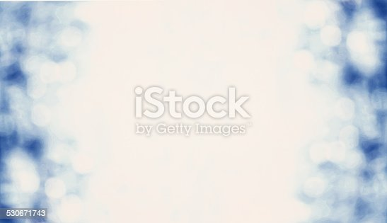 istock Blue Lights Festive Christmas  background with texture. Abstract 530671743