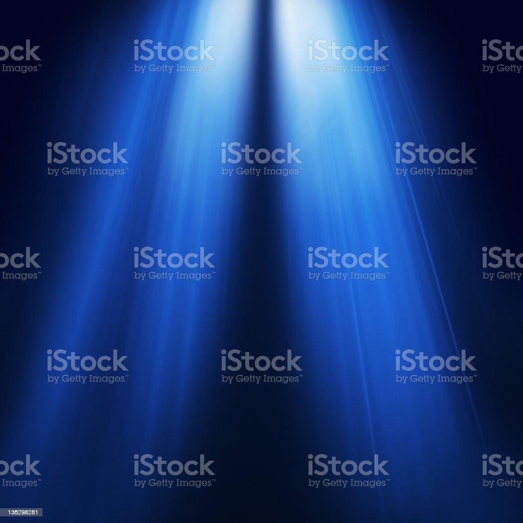 Azul luces - foto de stock