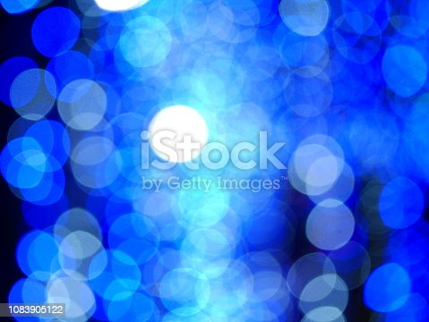 istock Blue lilac bokeh defocused background 1083905122