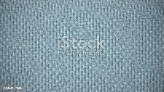 1148387720 istock photo Blue linen canvas. The background image, texture. 1096052708