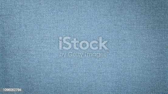 1148387720 istock photo Blue linen canvas. The background image, texture. 1096052794