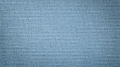 istock Blue linen canvas. The background image, texture. 1096052794