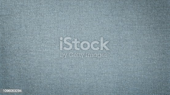 1148387720 istock photo Blue linen canvas. The background image, texture. 1096053294