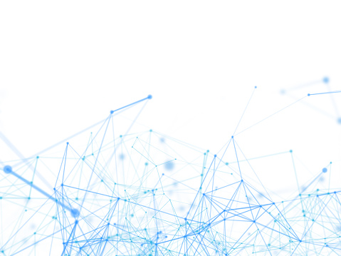 944923496 istock photo Blue lines background in technology concept, abstract illustration 941818606