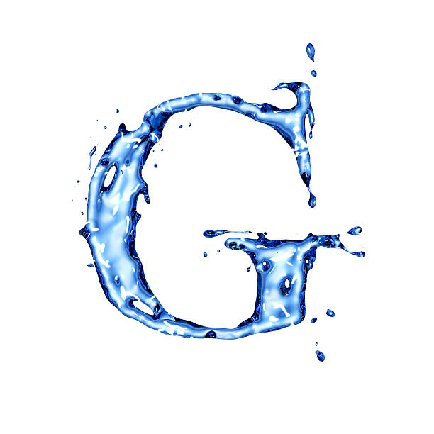 Royalty free blue liquid water letter g pictures images and stock blue liquid water letter g stock photo altavistaventures Images