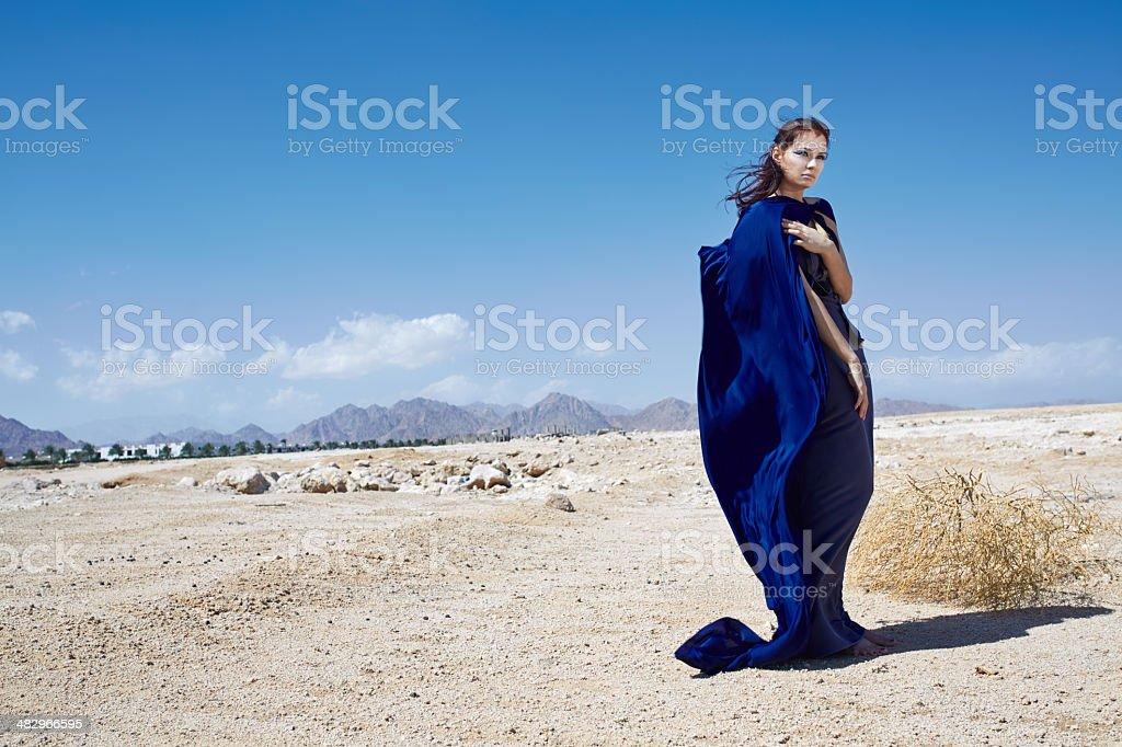 blue mantle stock photo