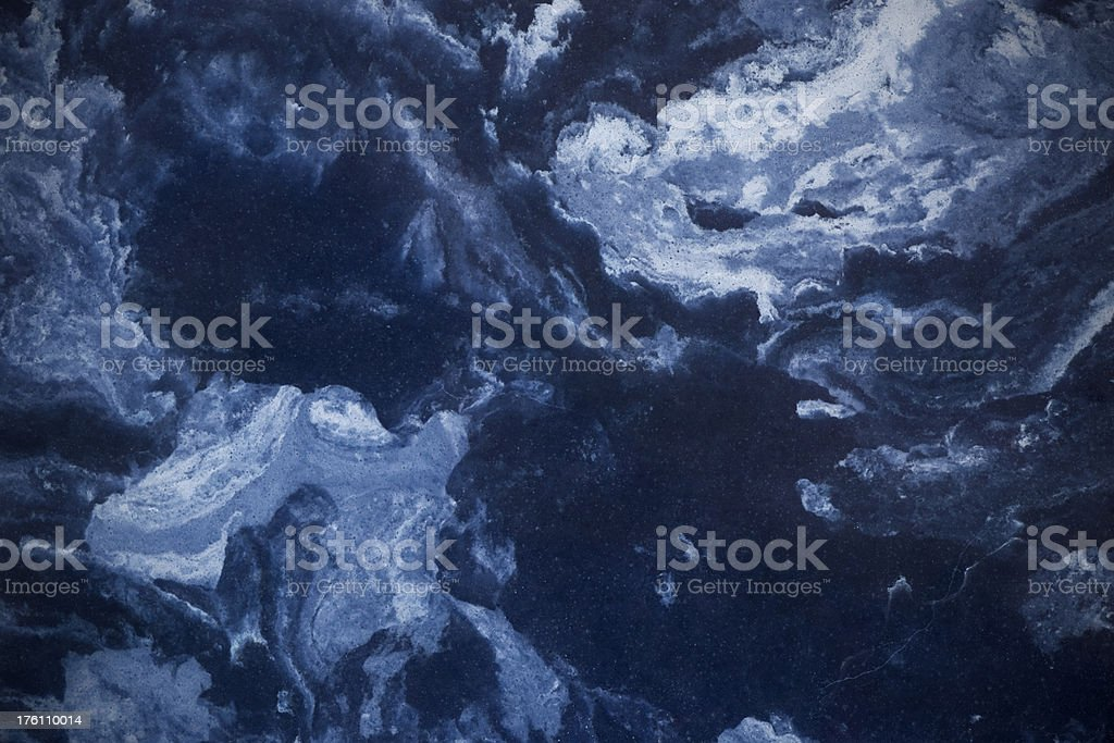 Blue Marble Abstract Background stock photo
