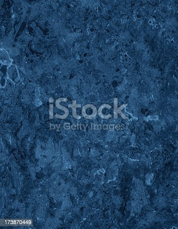 istock Blue marble background 173870449