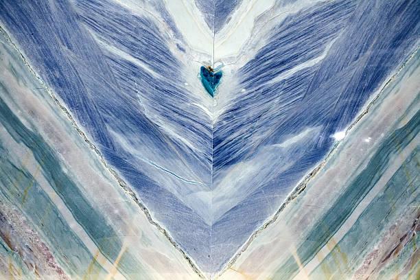 Blue marbre onyx - Photo