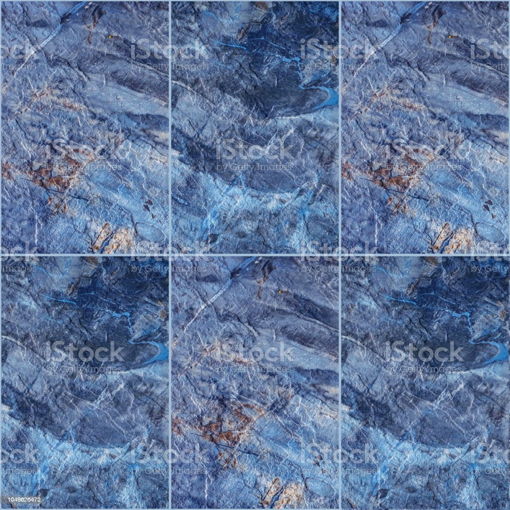 Blue Marble Rock Slab Texture Stock Photo Download Image Now Istock