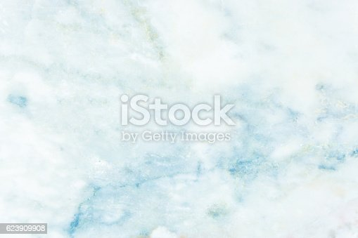 istock blue Marble texture background. 623909908