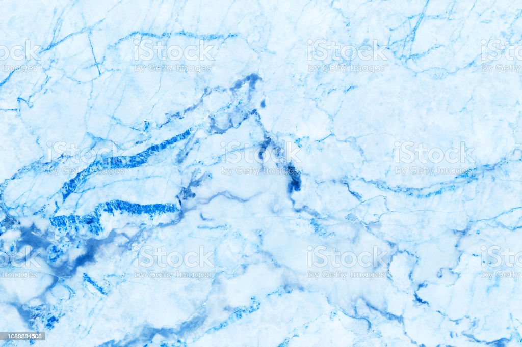 Blue Marble Texture Background With High Resolution Top View Of