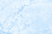 Blue marble texture in natural pattern with high resolution for background and design art work. Blue stone floor.