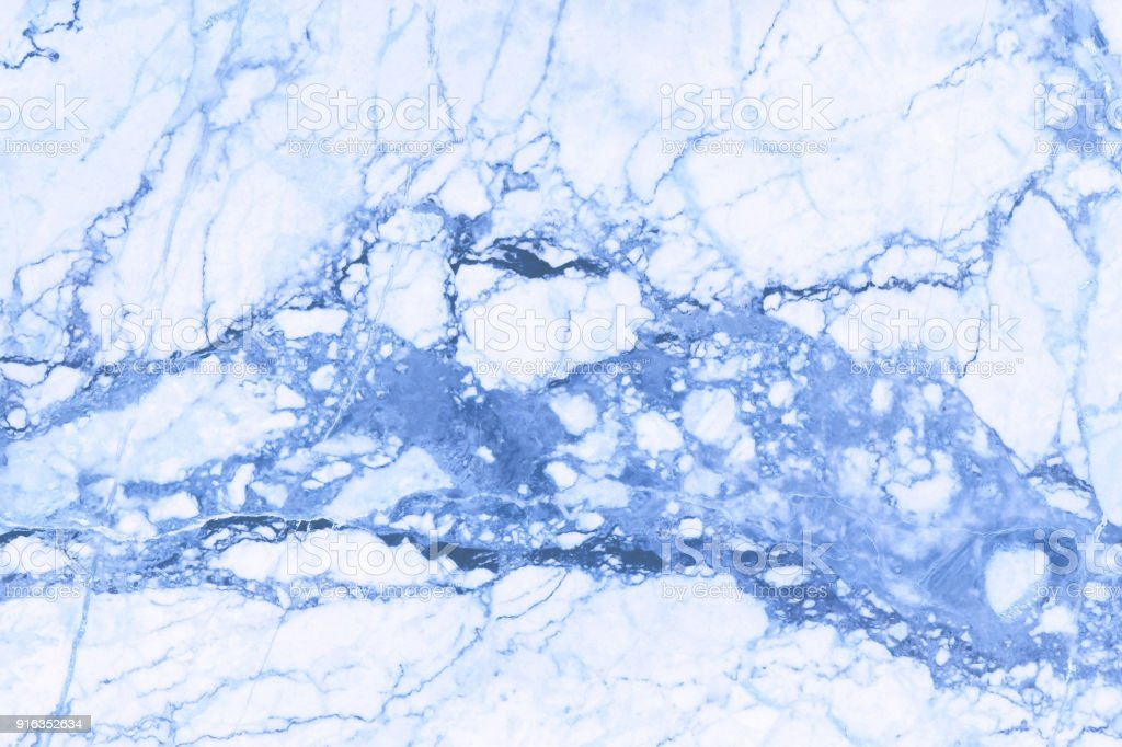 Blue Marble Texture In Natural Pattern With High Resolution For