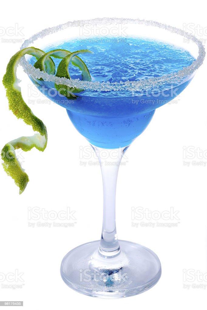 Blue Margarita royalty-free stock photo