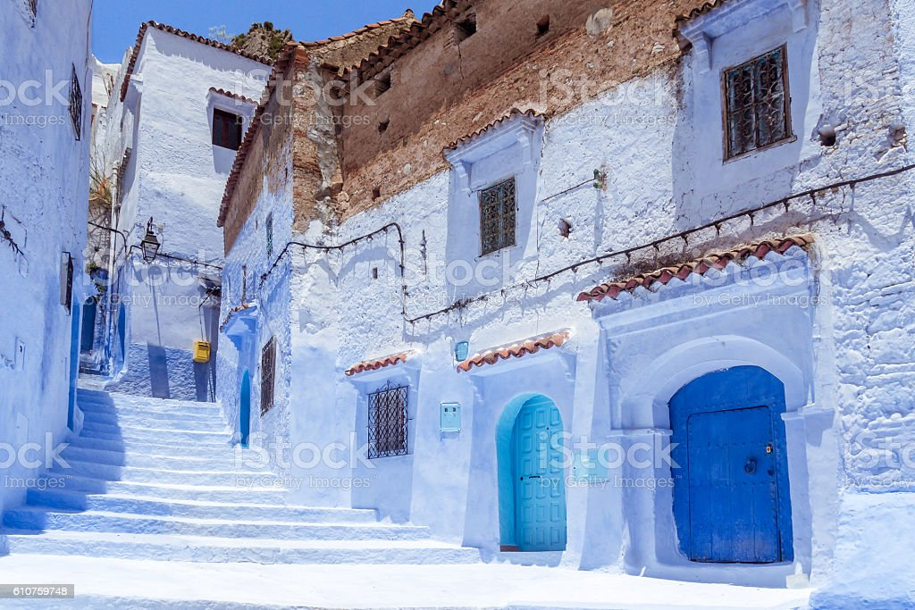 Blue medina – zdjęcie