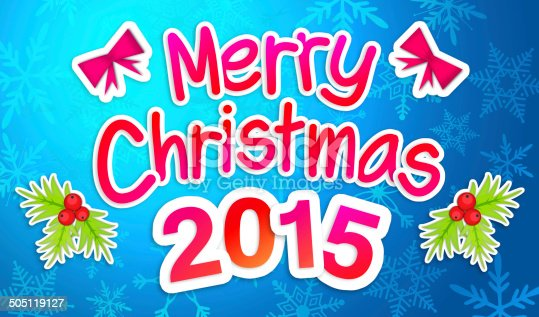 527392693 istock photo Blue Merry Christmas Greeting Art Paper Card 505119127