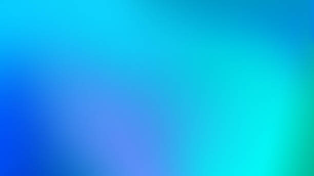 Blue Mesh Gradient Blurred Motion Abstract Background Blue, Teal and Purple Mesh Gradient Defocused Blurred Motion Abstract Background sky blue stock pictures, royalty-free photos & images