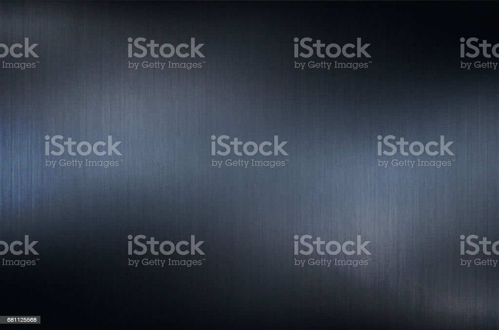 Blue Metal Background vector art illustration