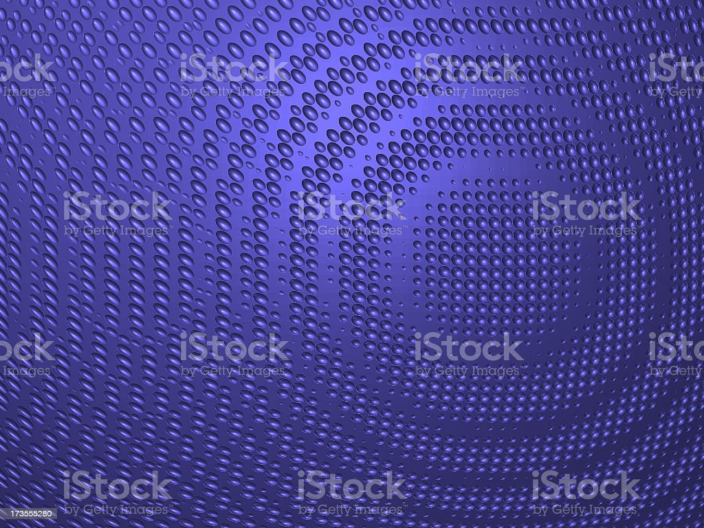 Blue Metal Surface royalty-free stock photo