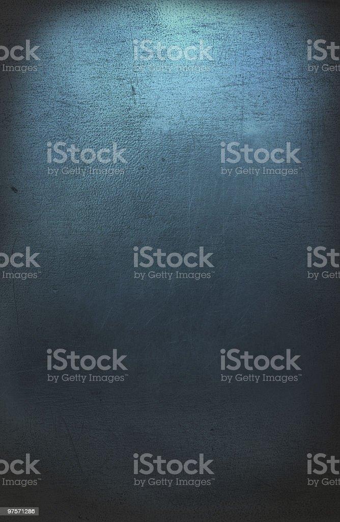 texture de métal bleu photo libre de droits