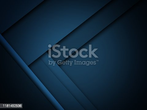 istock Blue modern material design, abstract widescreen background 1181452536
