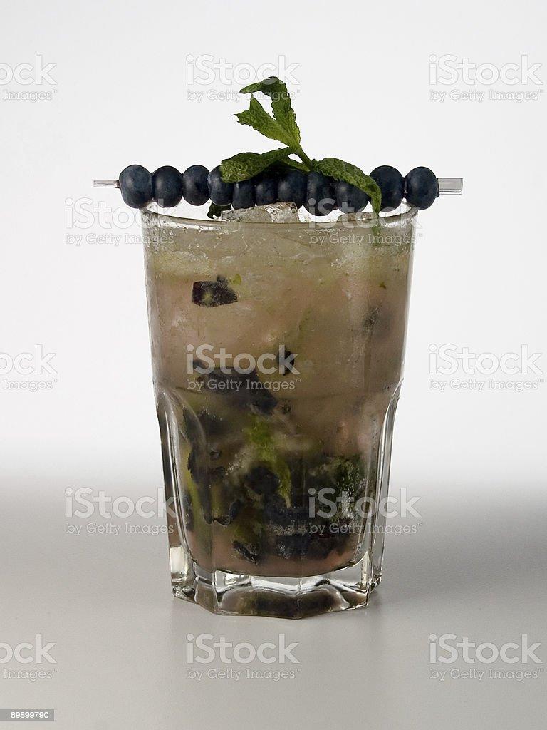 Blue Mojito royalty-free stock photo