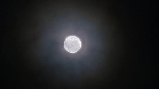 Blue Moon 01 stock photo