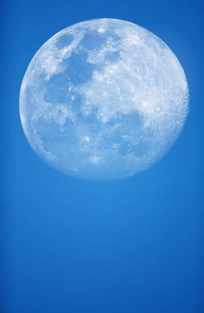 Blue Moon stock photo