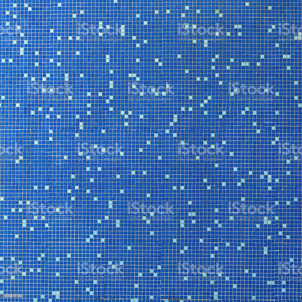 Fundo de mosaico azul mosaico foto de stock royalty-free