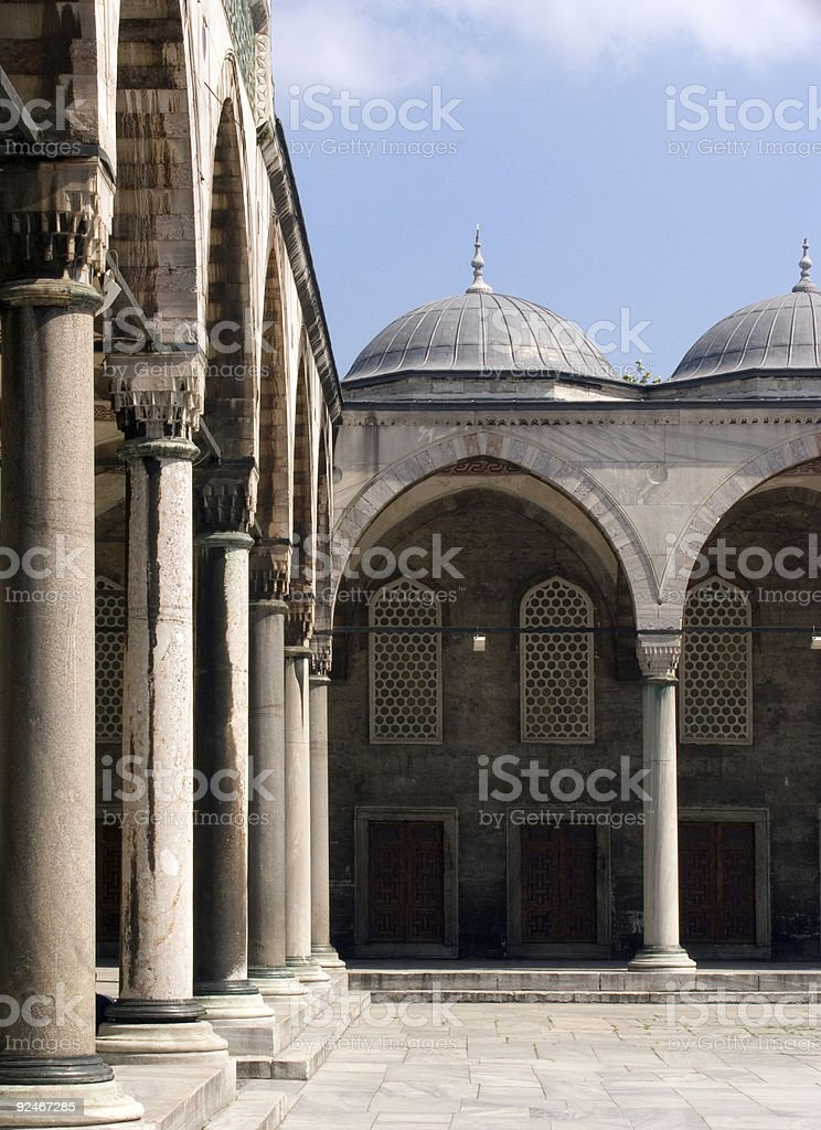 Blue mosque 15 royalty-free stock photo