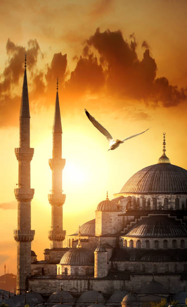 Blaue Moschee bei Sonnenaufgang – Foto