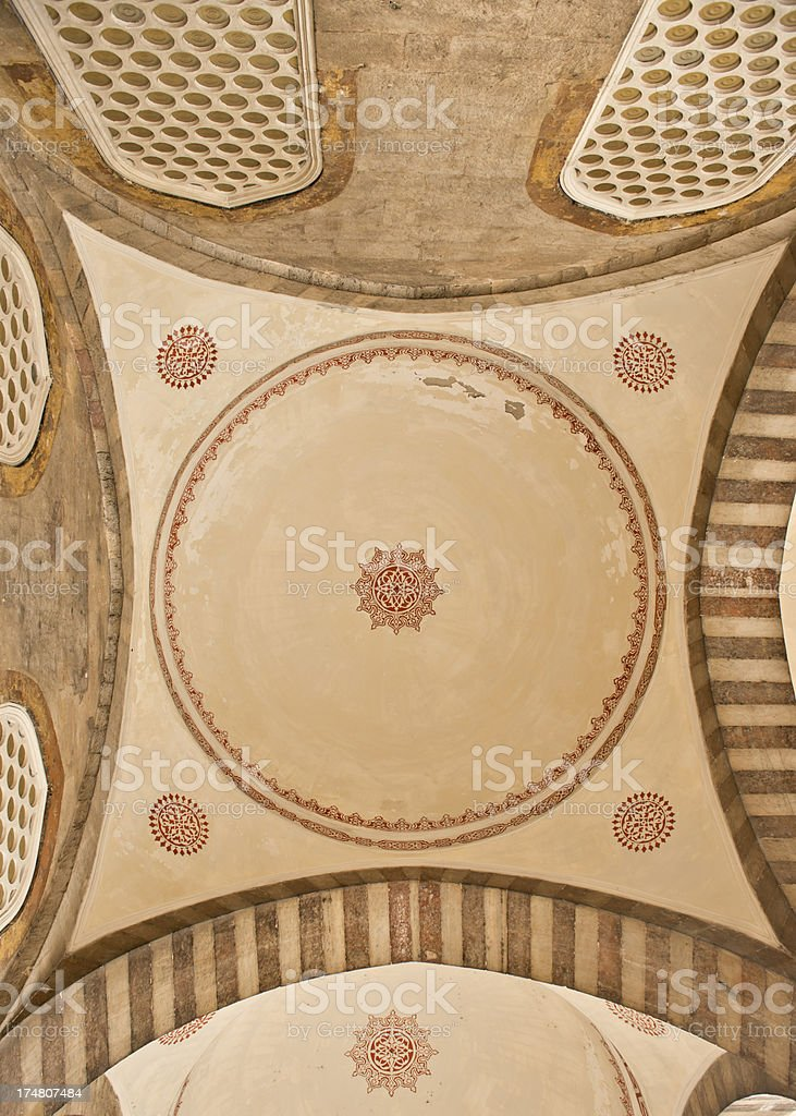 Blue Mosque Detail royalty-free stock photo