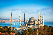istock Blue Mosque in Istanbul 160193420
