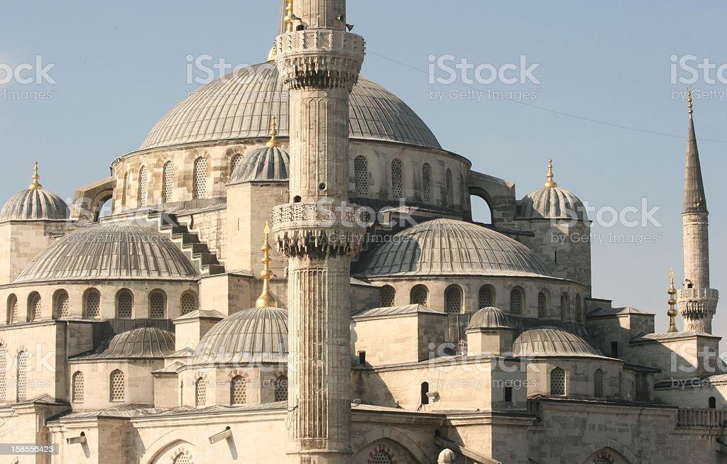 블루 모스크, 이스탄불 royalty-free 스톡 사진