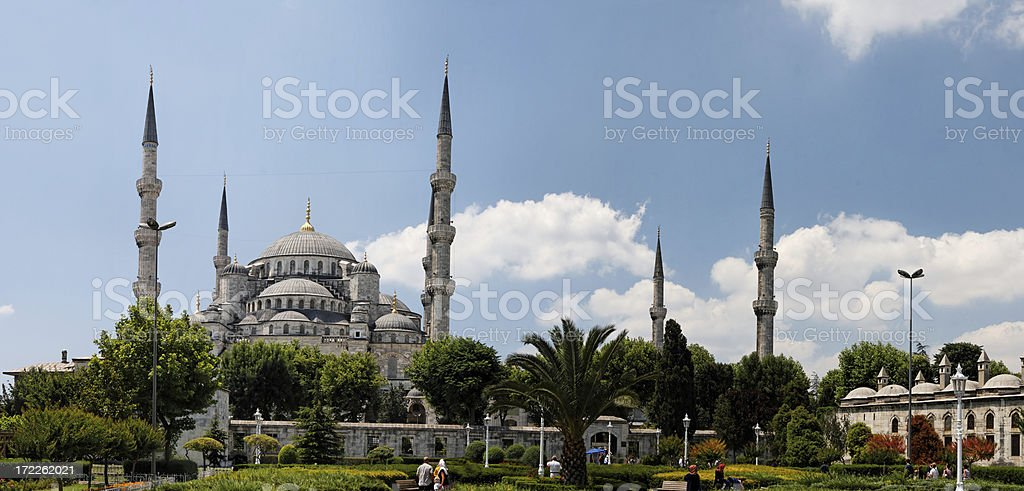 Blue mosque, Istanbul royalty-free stock photo