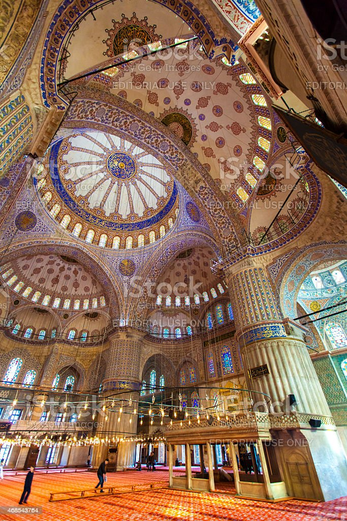 Blue Mosque, Istanbul stock photo