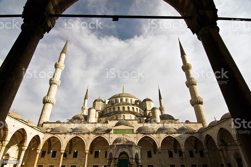 Blue Mosque, Istanbul, Turkey royalty-free stock photo