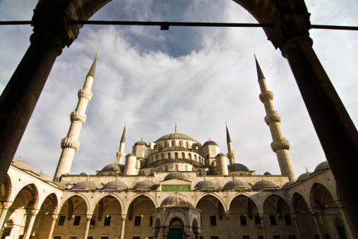 Blue Mosque Istanbul Turkey Stock Photo - Download Image Now