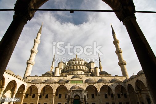 Blue Mosque Istanbul Turkey Stock Photo & More Pictures of Architecture
