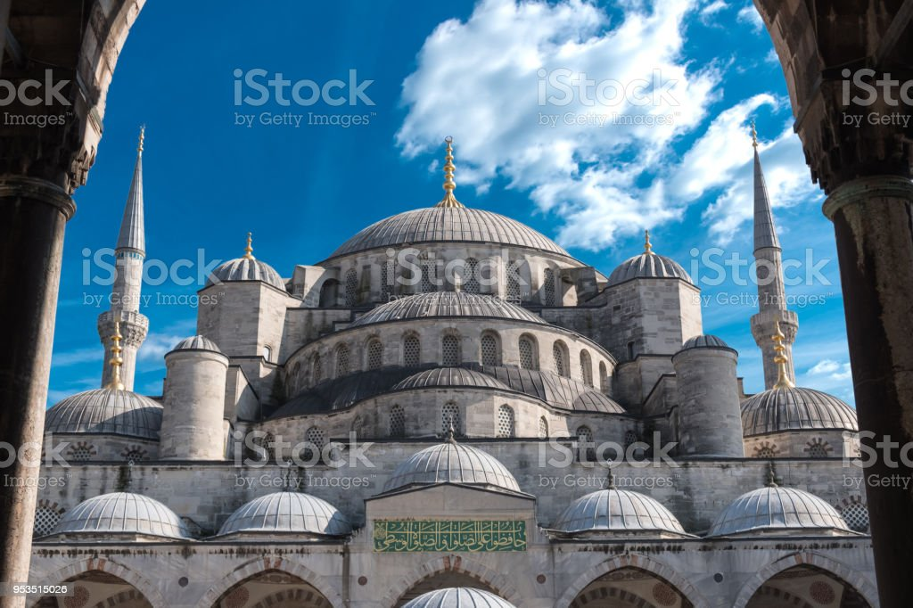 Blue Mosque, Istanbul, Turkey stock photo