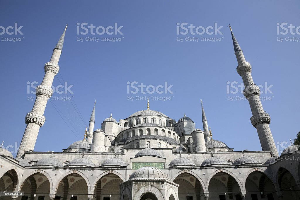 Blue Mosque royalty-free stock photo
