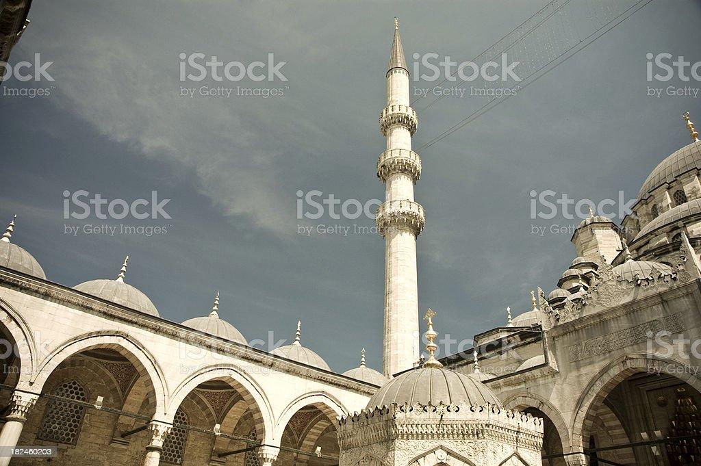 Mezquita Azul foto de stock libre de derechos