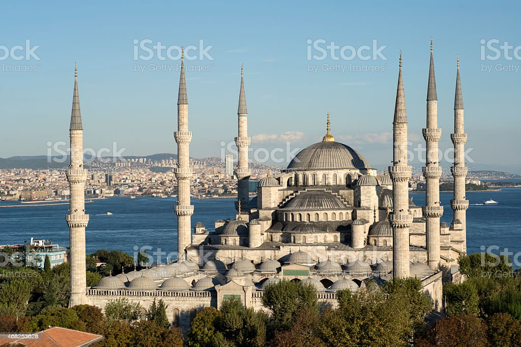 Blue Mosque (Sultanahmet Mosque) stock photo