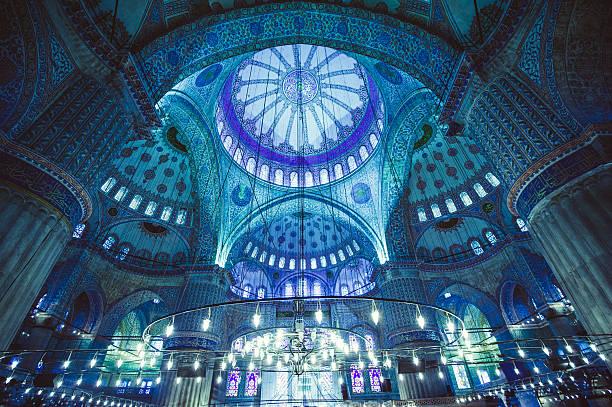 голубая mosque - стамбул стоковые фото и изображения