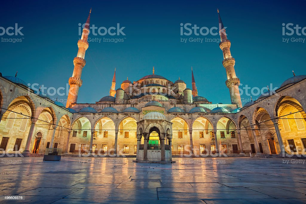 Blue Mosque. stock photo