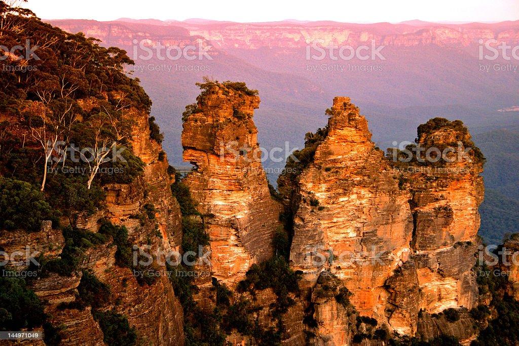Blue Mountain, NSW, Australia royalty-free stock photo