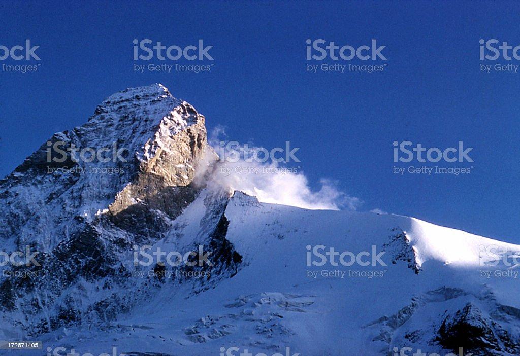 Blue Mountain royalty-free stock photo