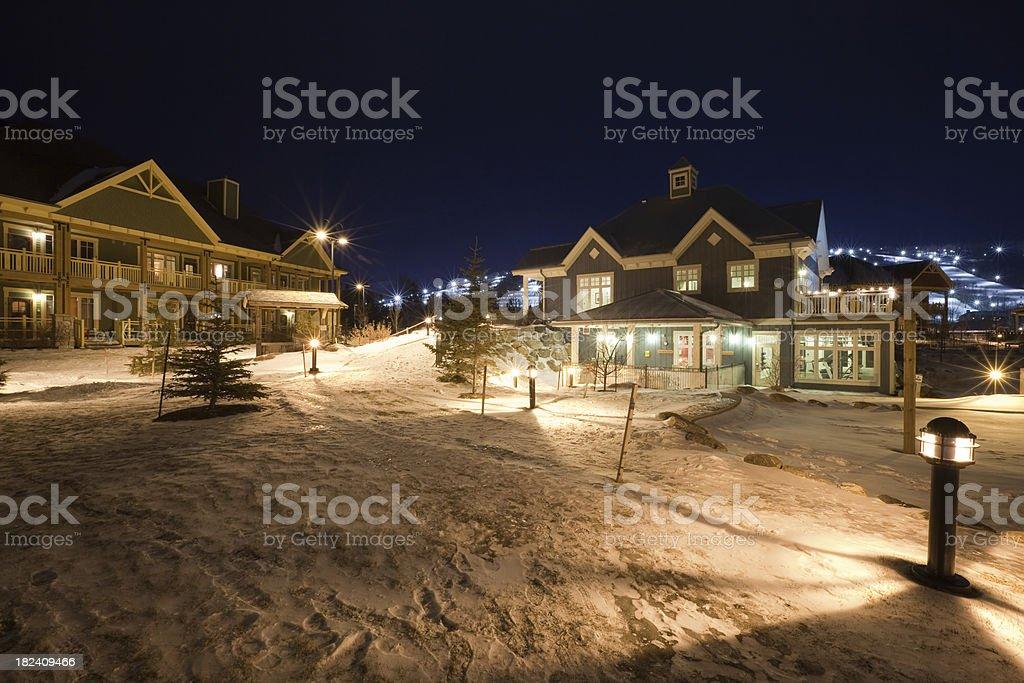 Blue Mountain Resort stock photo