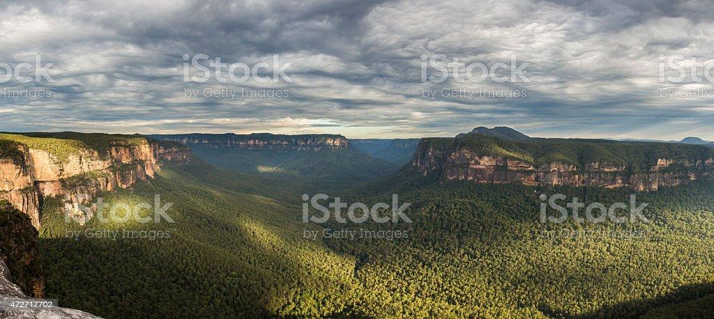 Blue Mountains Australia Valley stock photo